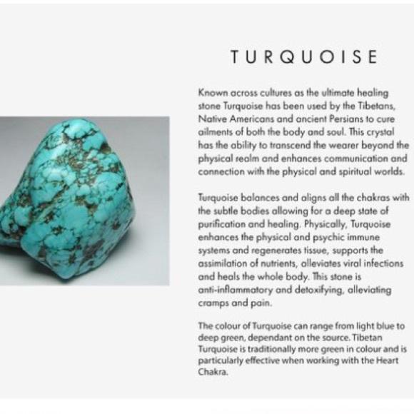 Turquoise Tumbled Healing Stone Crystal Bracelet